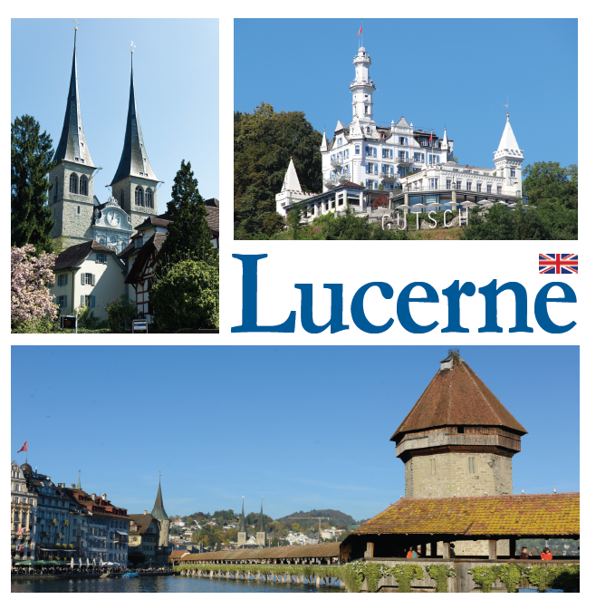 Bookcover of Lucerne images of a city